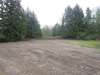 land clearing mowing tree cutting excavation